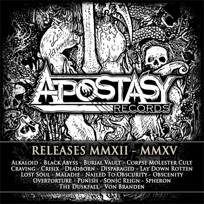 Apostasy Records Sampler
