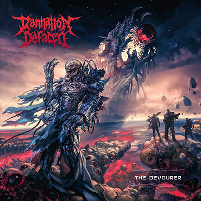 Damnation Defaced The Devourer